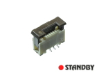 Connector FFC / FPC 0,5mm 06pin