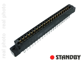 gniazdo R=3,96mm; 44 pin; proste
