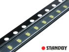 LED SMD 1608 Bluish White (10pcs)